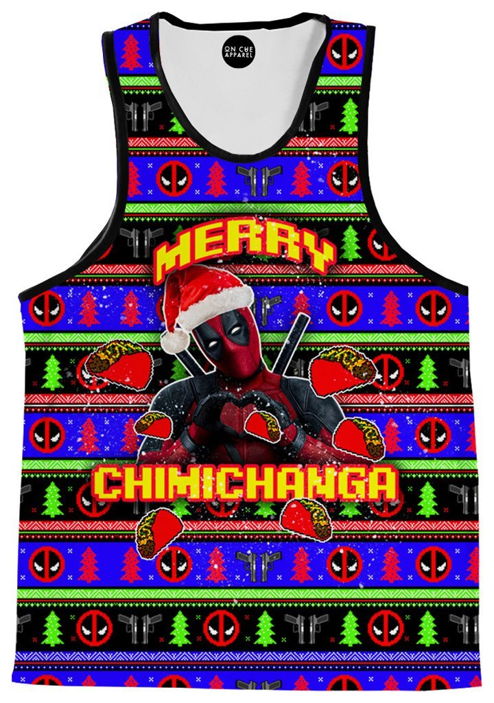 On Cue Apparel Merry Chimichanga Men