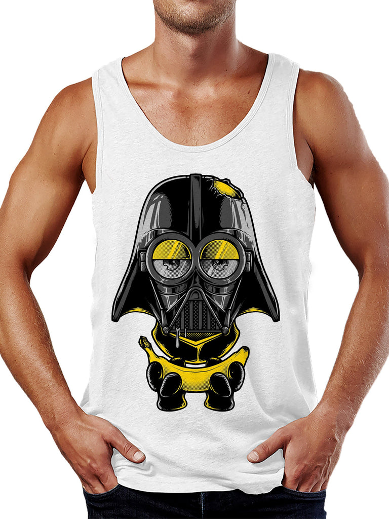 On Cue Apparel Minion Vader Tank Top