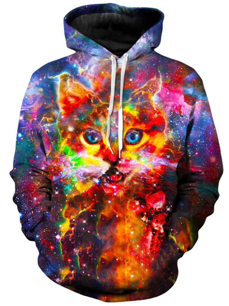 On Cue Apparel Nebula Cat Hoodie