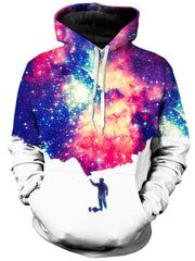 On Cue Apparel Painting The Universe Hoodie