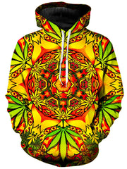 On Cue Apparel Psychedelic Weed Hoodie