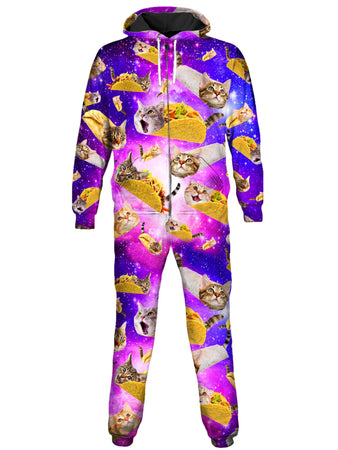 On Cue Apparel - Tacos and Cats Onesie
