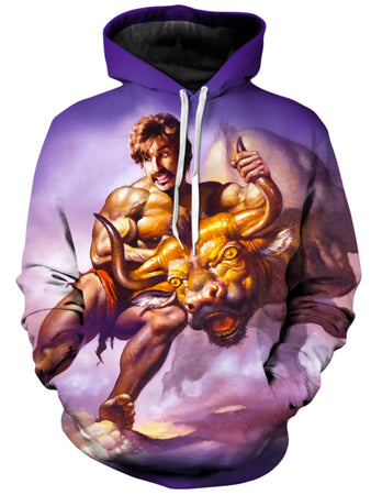 On Cue Apparel - Taking the Bull by the Horns Hoodie