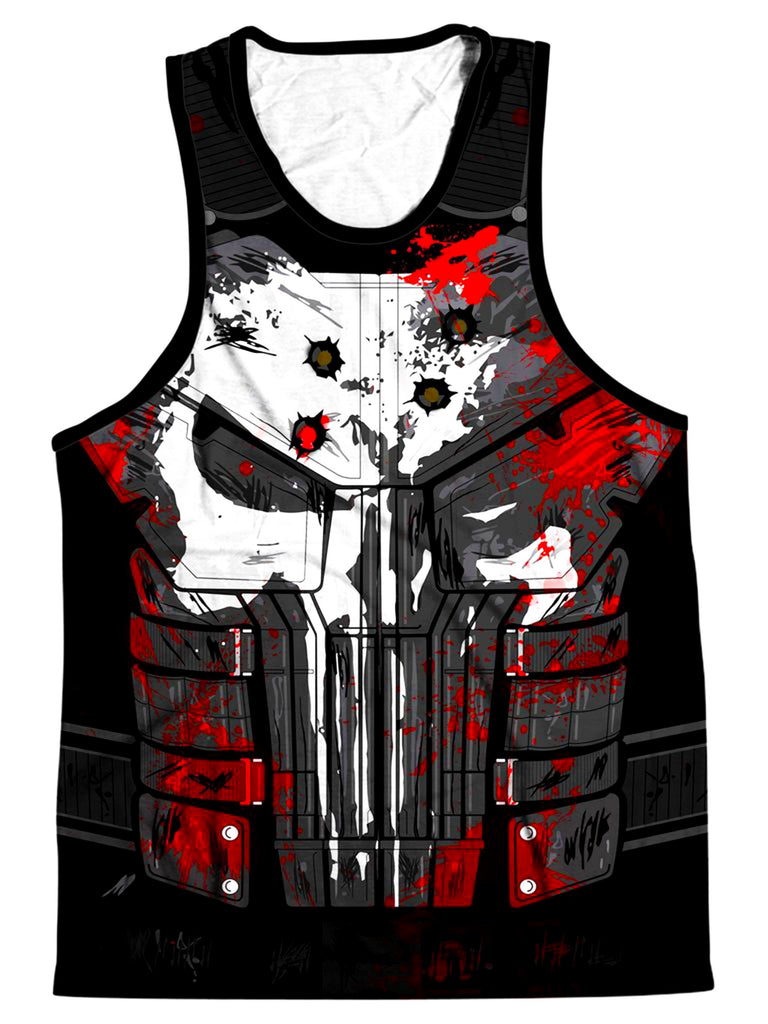 On Cue Apparel The Punisher Men