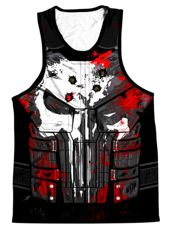 On Cue Apparel - The Punisher Men's Tank
