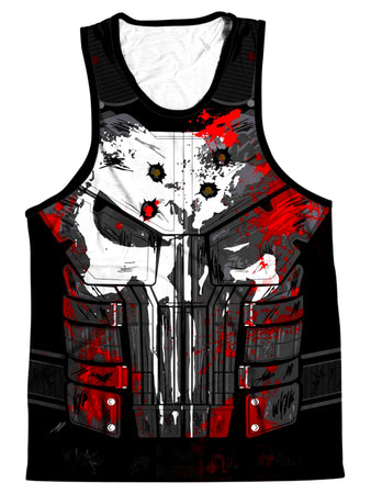 On Cue Apparel - The Punisher Men's Tank (Ready To Ship)