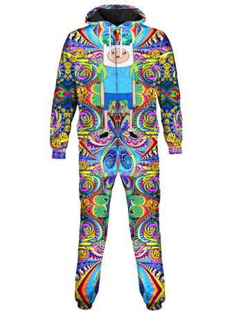 On Cue Apparel - Trippy Finn Onesie