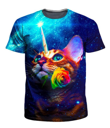 On Cue Apparel - Unicat Men's T-Shirt (Ready To Ship)