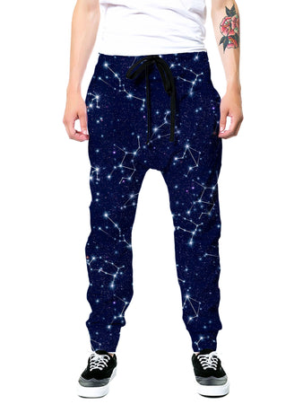 On Cue Apparel - Zodiac Constellation Joggers