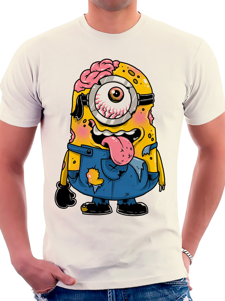 On Cue Apparel Zombie Minion T-Shirt