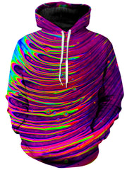 Psychedelic Pourhouse Cosmic Ripples Unisex Hoodie - iEDM