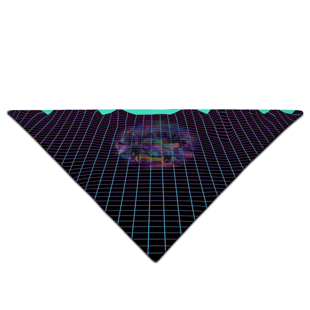 Psychedelic Pourhouse Psychedelic Outrun Bandana - iEDM