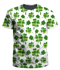 Ready To Ship Clover Patch Men's T-Shirt (Ready To Ship) - iEDM