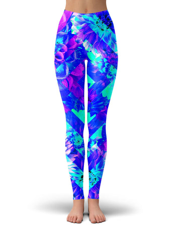 Ready To Ship - Diamond Dhalia Leggings (Ready To Ship)
