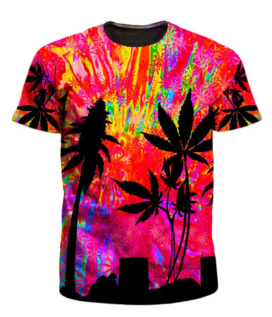 Ready To Ship - Miami Trees Men's T-Shirt (Ready To Ship)