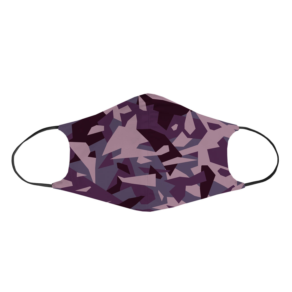 Ready To Ship Purple Camo Non-Filter Face Mask (Ready To Ship) - iEDM