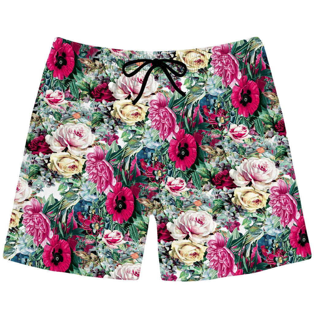 Riza Peker - Floral Dorian Swim Trunks