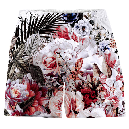Riza Peker - Floral Skull Weekend Shorts