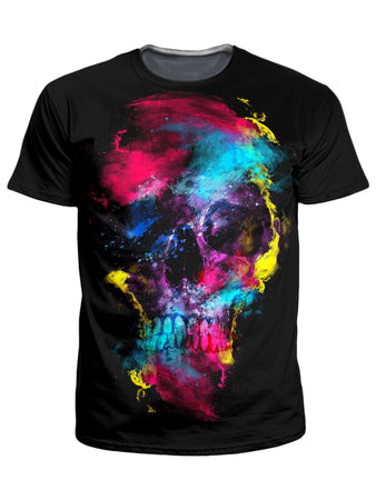 Riza Peker - Skull 49 T-Shirt and Shorts Combo