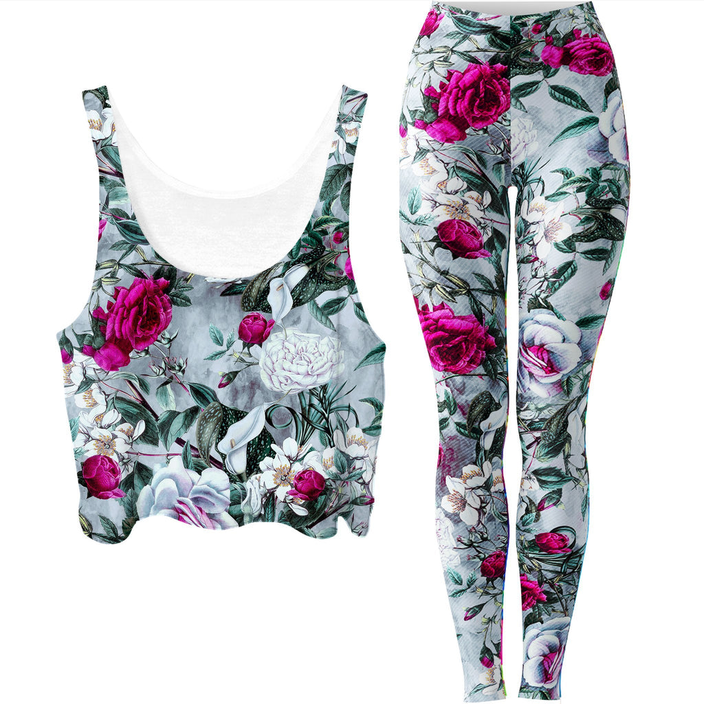 Riza Peker Vapor Crop Top and Leggings Combo