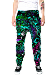 Set 4 Lyfe Acid Tiger Joggers