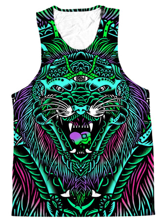 Set 4 Lyfe - Acid Tiger Men's Tank