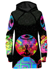 Set 4 Lyfe Alien Meditate Hoodie Dress