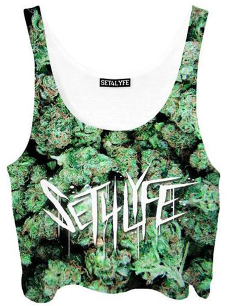 Set 4 Lyfe Buds Crop Top