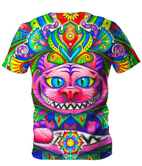 Set 4 Lyfe Cheshire Cat Men's T-Shirt