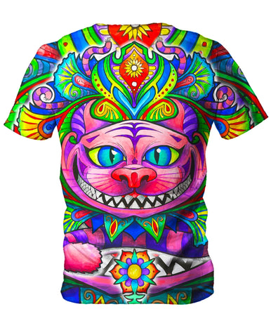Set 4 Lyfe - Cheshire Cat Men's T-Shirt