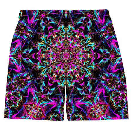 Set 4 Lyfe - Neon Mandala Weekend Shorts