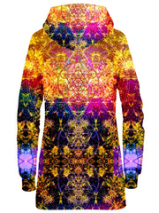 Set 4 Lyfe Pineal Metatron Hoodie Dress