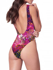 Set 4 Lyfe Raphael Portal High Cut One-Piece Swimsuit