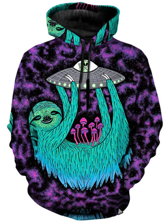 Set 4 Lyfe - Sloth Abduction Unisex Hoodie