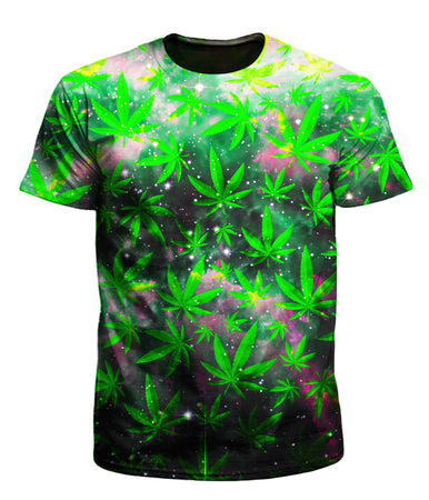 Set 4 Lyfe - Space Ganja Men's T-Shirt