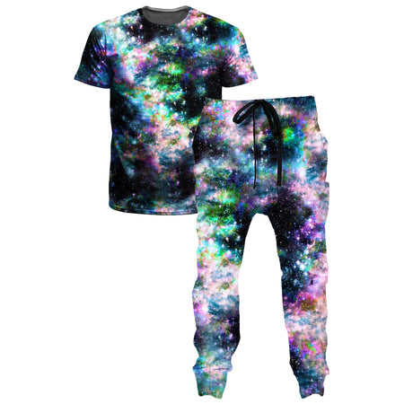 Set 4 Lyfe - Weird Rave T-Shirt and Joggers Combo