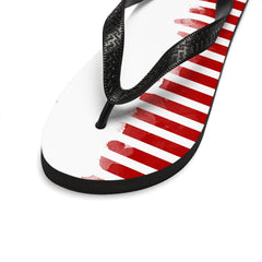 Shoes Start and Stripes Flip-Flops - Unisex - iEDM