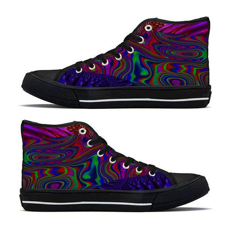 Shoes - Trippy Trek High-Top Sneakers