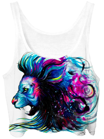 Svenja Jodicke - Lion Color Crop Top