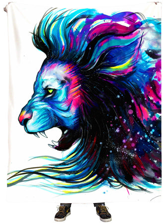 Svenja Jodicke - Lion Color Plush Blanket