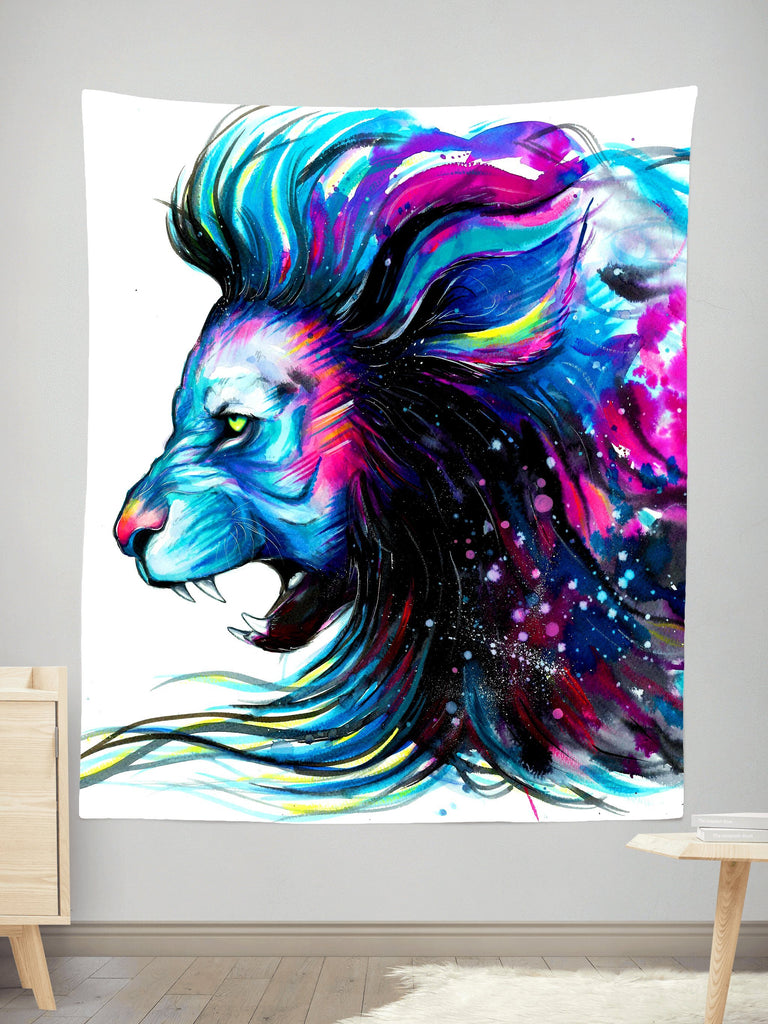 Svenja Jodicke Lion Color Tapestry