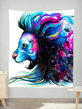 Svenja Jodicke - Lion Color Tapestry