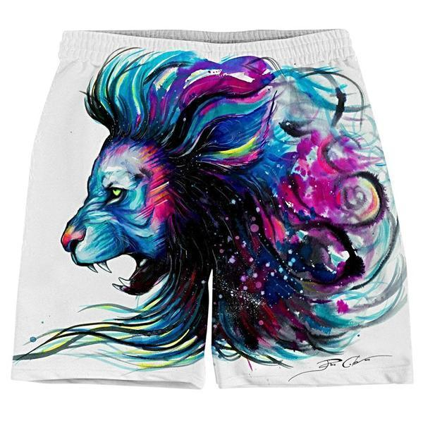 Svenja Jodicke Lion Color Weekend Shorts (Ready To Ship)