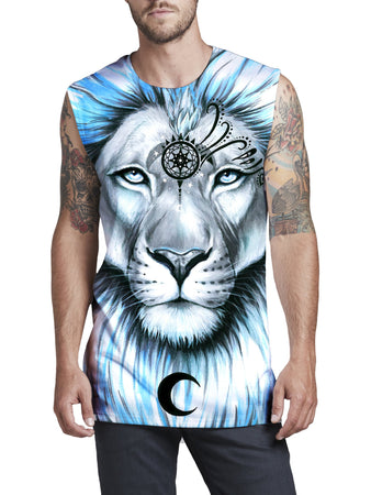 Svenja Jodicke - Lion Galaxy Men's Muscle Tank