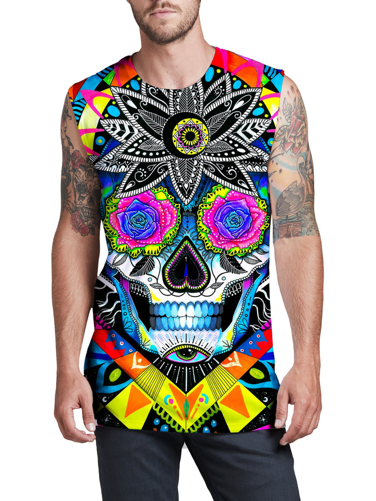 Suger Skull Men's Muscle Tank