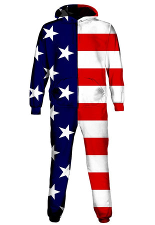 iEDM - USA Flag Onesie