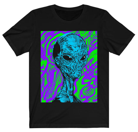 T-Shirt - Alien Graphic T-Shirt
