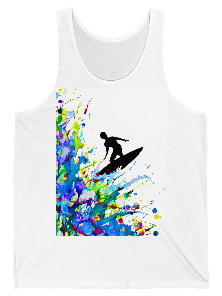 Tank Top A Pollock's Point Break Graphic Tank Top