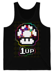 Tank Top Level Up Mushroom Graphic Tank Top