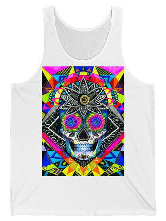 Tank Top - Suger Skull Graphic Tank Top